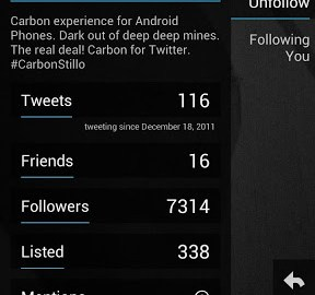 Download Carbon for twitter