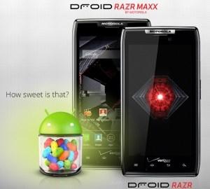 Motorola Android 4.1 Jelly Bean OTA