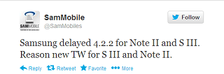 Android 4.2.2 Note 2 S3