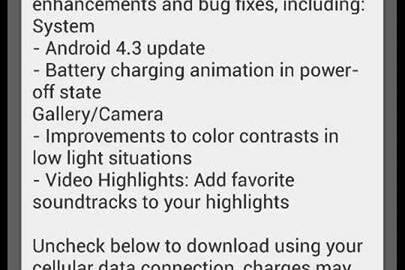 Download HTC ONE Android 4.3 Jelly Bean