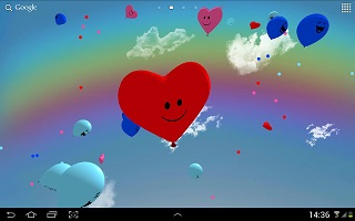 Balloons 3D Live Wallpaper