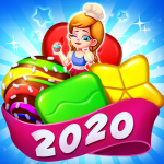 Candy holic Sweet Puzzle Master 3.6.8010 .APK MOD Unlimited money Download for android