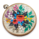 Cross Stitch Club Color by Numbers with a Hoop .APK MOD Unlimited money Download for android