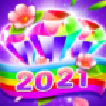 Bling Crush Free Match 3 Jewel Blast Puzzle Game .APK MOD Unlimited money Download for android