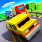 Blocky Highway Traffic Racing 1.2.3 .APK MOD Unlimited money Download for android