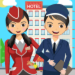 Pretend Play Hotel Cleaning Doll House Fun 1.1.5 .APK MOD Unlimited money Download for android