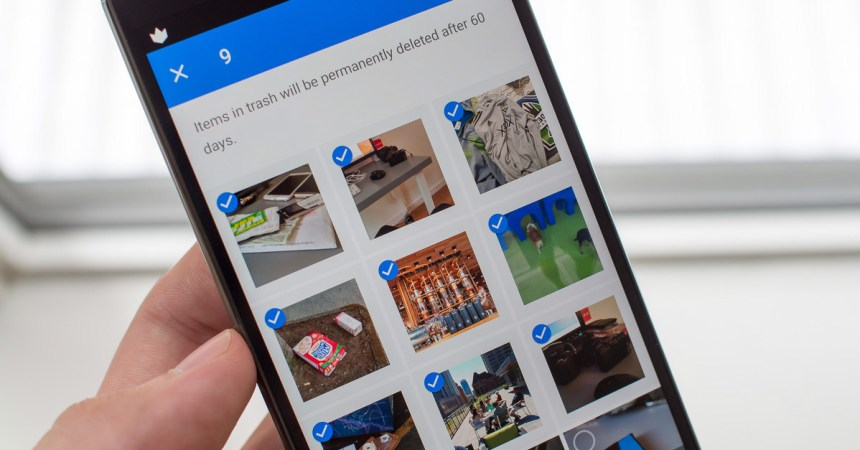 Deleting Pictures from Google Photos