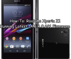 Root An Xperia Z1
