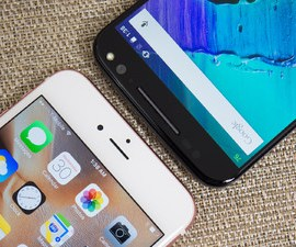 Apple iPhone 6s Plus And Motorola Moto X Pure