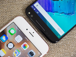 Apple iPhone 6s Plus And Motorola Moto X Pure