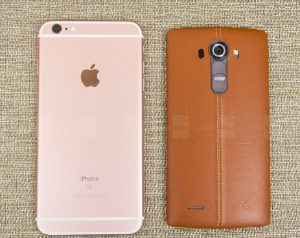 iPhone 6s Plus And LG G4
