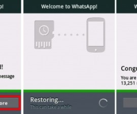 Recovering WhatsApp Chat History On Android