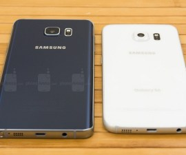 A Comparison between Samsung Galaxy Note5 and Samsung Galaxy S6