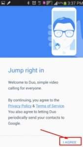 تحميل تطبيق Google Duo للايفون والايباد