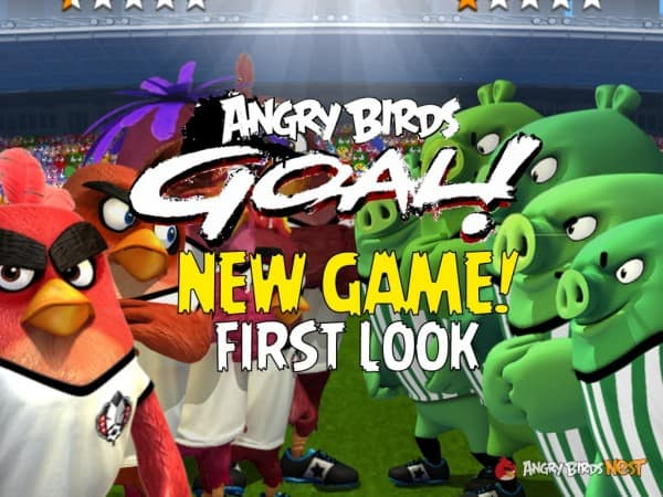Angry Birds Goal للاندرويد