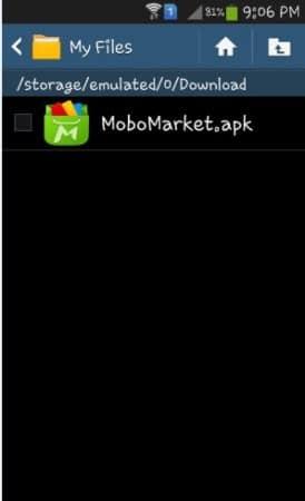 تحميل موبو ماركت