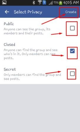تغيير خصوصية المجموعات علي الفيسبوك