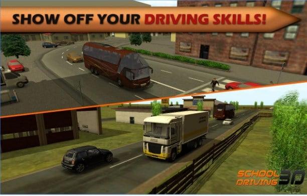 تنزيل لعبة School Driving 3D