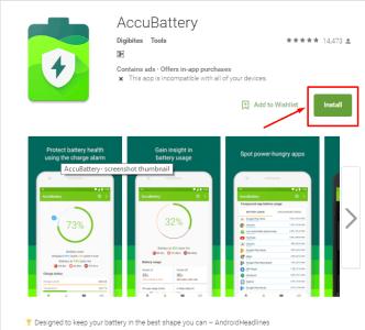 تحميل تطبيق AccuBattery