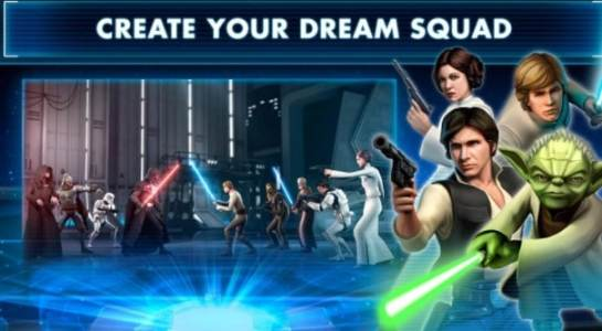 تحميل Star Wars Galaxy of Heroes