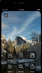 طريقة إخفاء حافه iPhone X