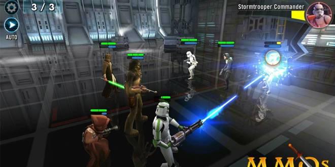 بعد أن كانت لعبة مدفوعة الآن يمكنك تحميل لعبة Star Wars Galaxy of Heroes مجاناً