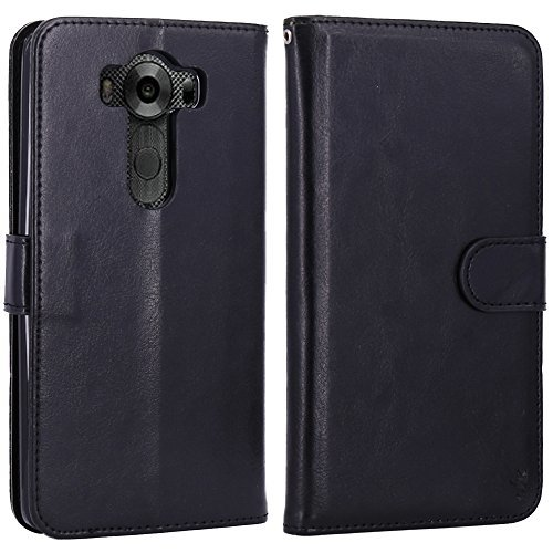 LK Luxury Wallet Flip Case For LG V10