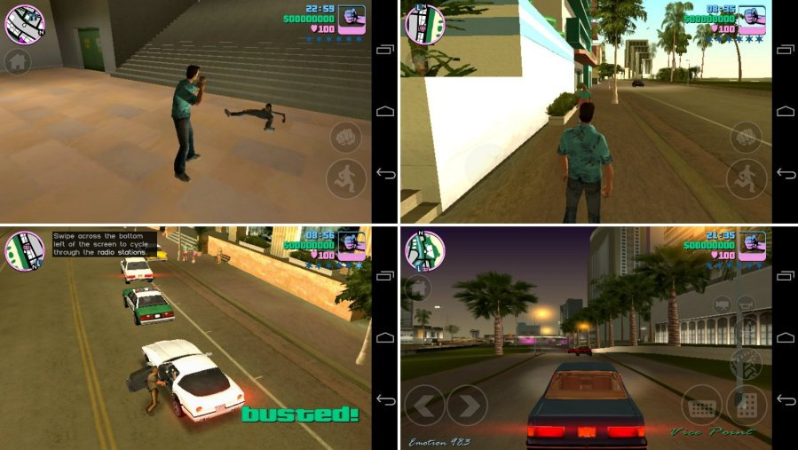 9 new irresistible games of December  1 2  To celebrate its 10th anniversary  Rockstar Games  Inc  released its  popular game Grand Theft Auto  Vice City for mobile devices