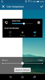 The new volume slider in Android 5.1 for HTC One M9