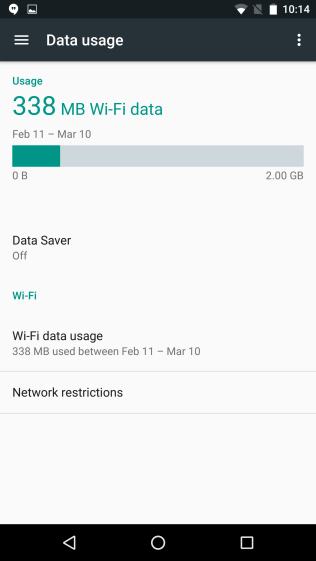 Data Saver Android N