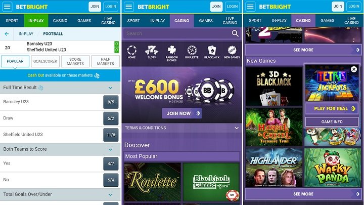 Review & Guide » BetBright Android App | Features & Bonus