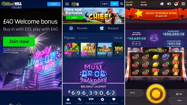 Review of William Hill Vegas