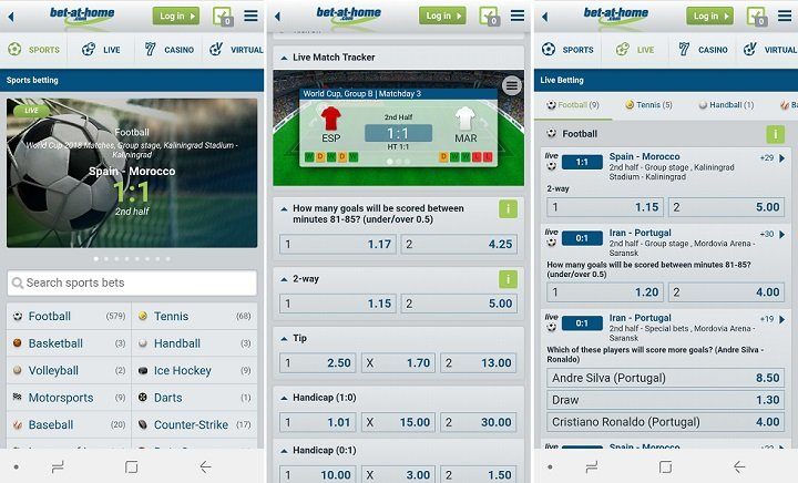 Download latest Bet-at-home Android app