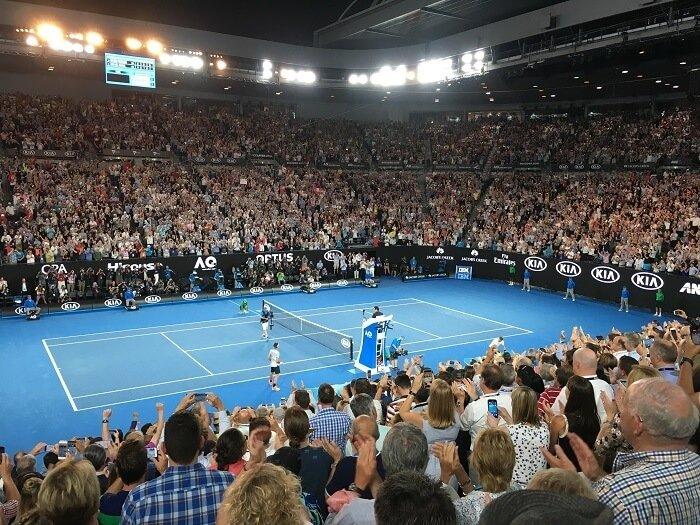 Australian open is popular for punters