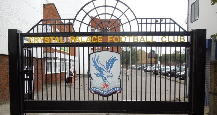 The gates at Crystal Palace