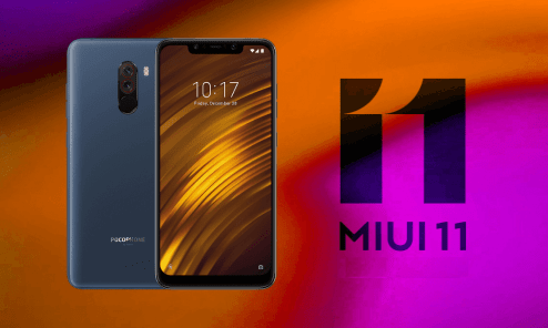 MIUI 11 Android 10 For Poco F1