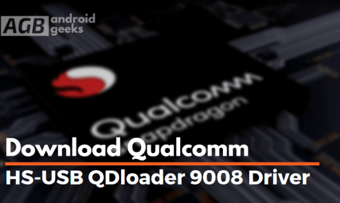 Download Qualcomm HS-USB QDloader 9008 Driver for Windows