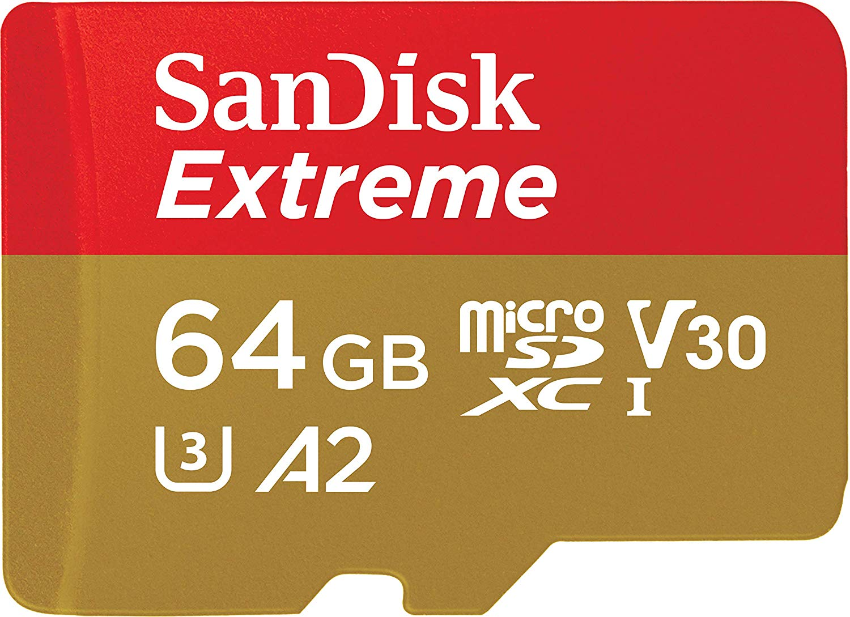 Extreme Series microSD card