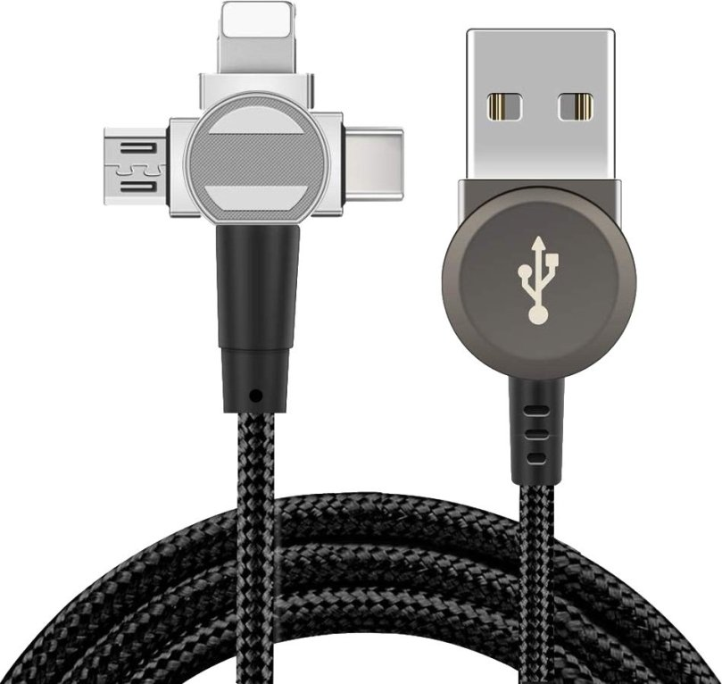 Sinstar Magnetic 3 In 1 Data Sync Cable