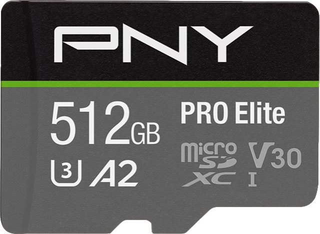 PNY Pro Elite 512GB Cropped