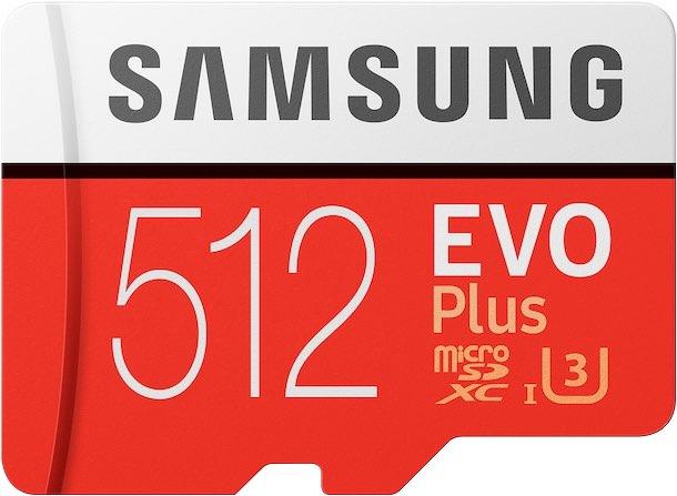 Samsung EVO Plus 512GB Cropped