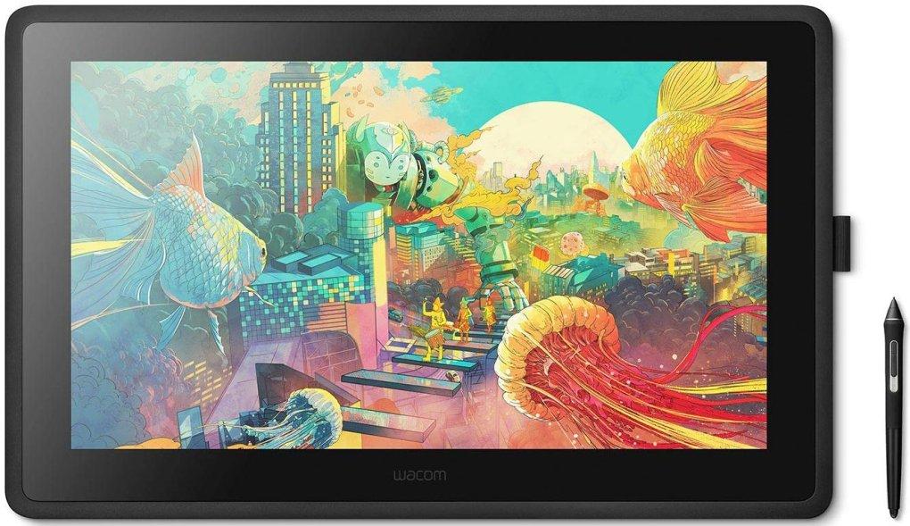 Wacom Cintiq 22 Drawing Tablet 4bzh