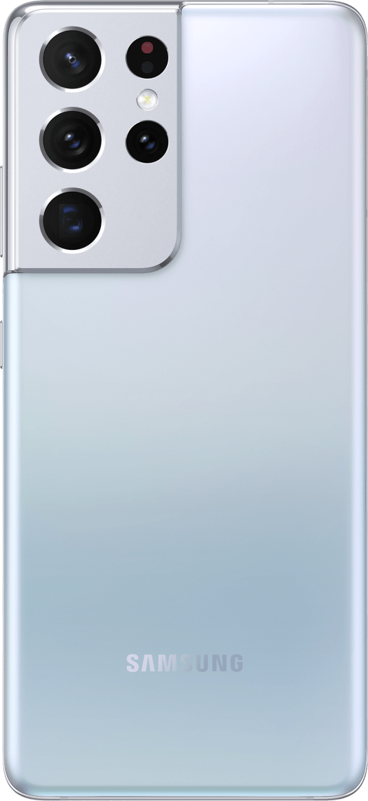 Samsung Galaxy S21 Ultra Render Phantom Silver Back Official