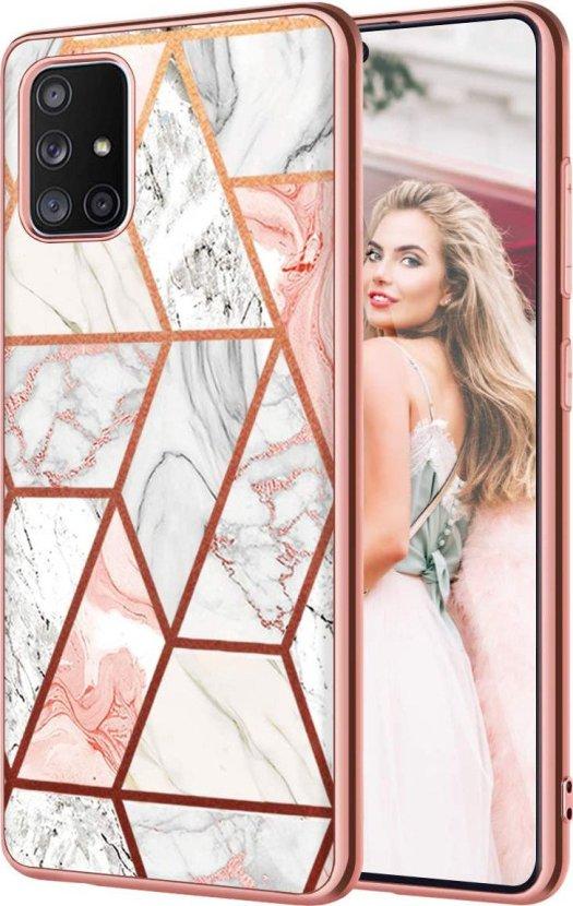 Fingic Marble Galaxy A71 5g Case Render