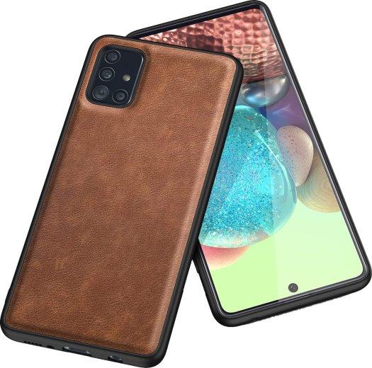 Kqimi Leather Galaxy A71 5g Case Render
