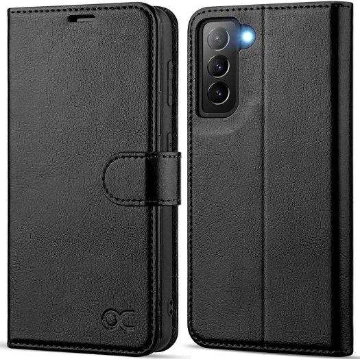 Ocase Leather Flip Folio Galaxy S