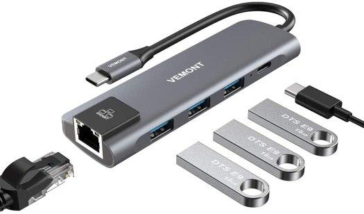 Vemont 5-in-1 USB-C Hub