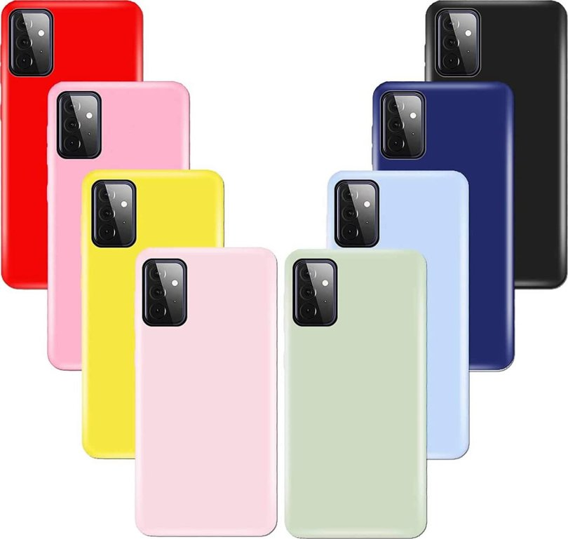Chenlingy Silicone Cases Galaxy A72 Render