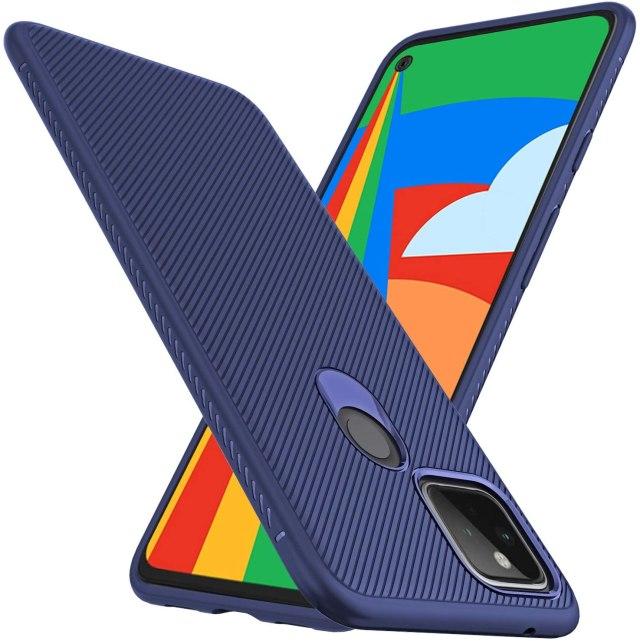 Lokyoo Pixel 5 Tpu Case Blue
