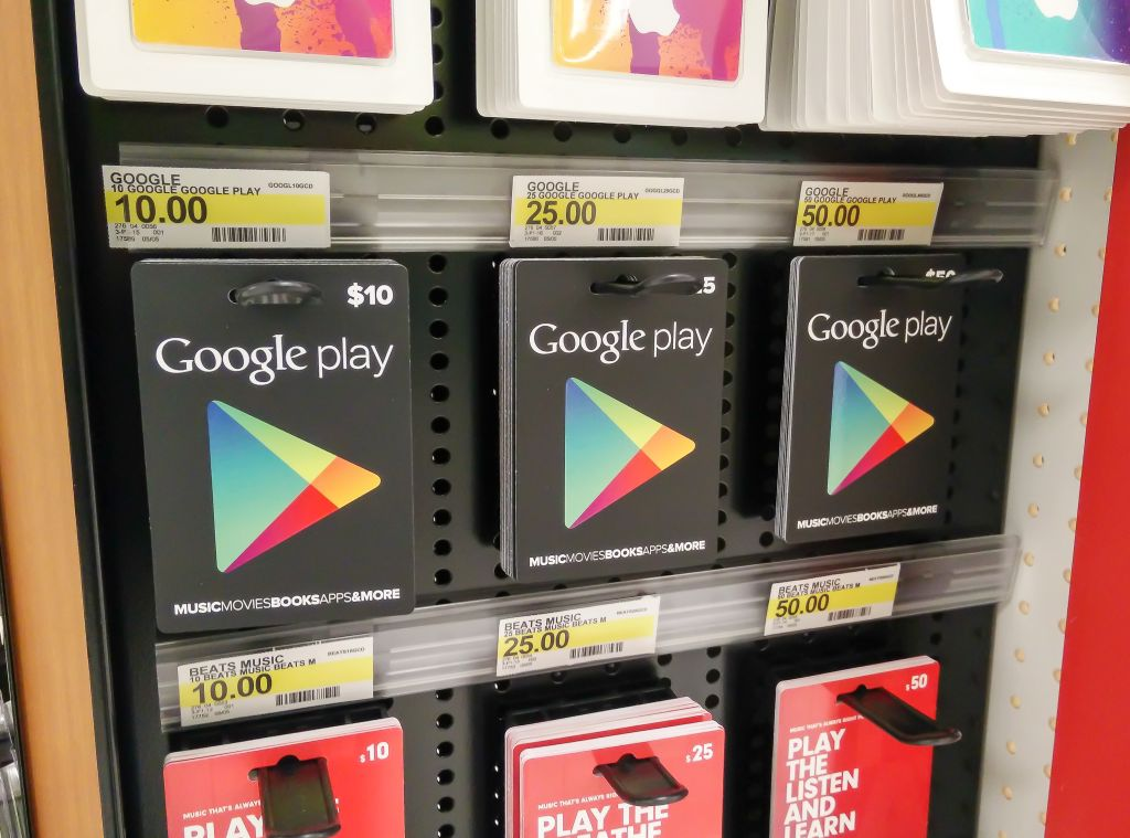 Where To Buy Google Play Gift Cards Android Central